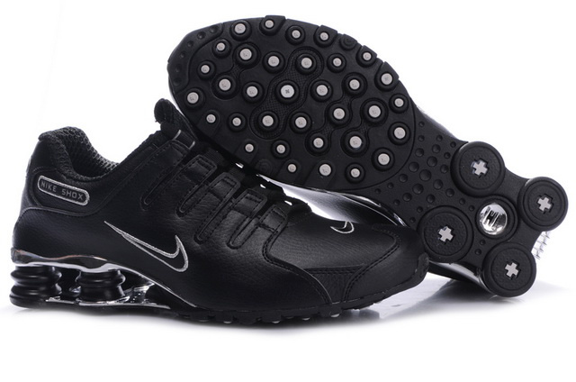 061IL81 2014 Nike Shox NZ Chaussures All Noir Silver Homme