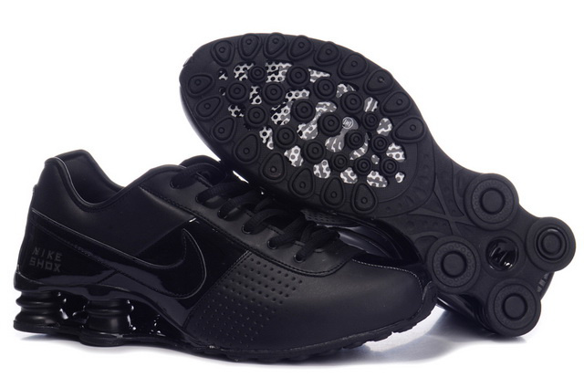 207OD20 2014 Homme Nike Shox OZ Chaussures Noir