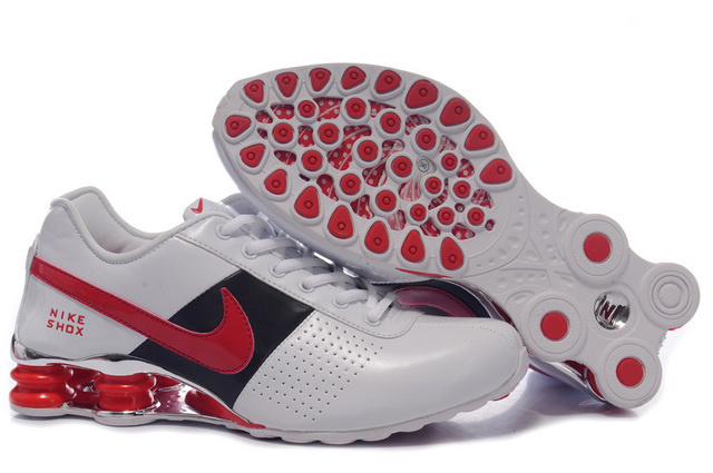 302AD97 2014 Homme Blanc Noir Rouge Nike Shox OZ Chaussures