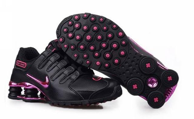 ... Solde Us Dollar Rose 173IM14 2014 Nike Shox NZ Chaussures Femme Pas  Cher ...
