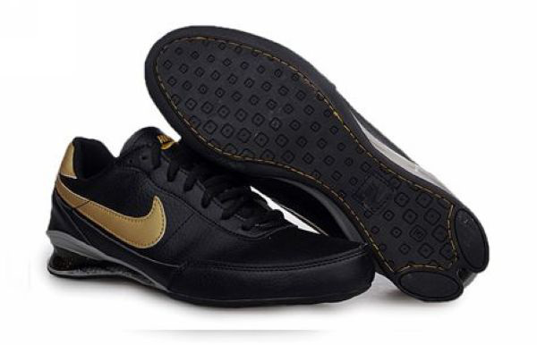 Nike Shox R2 Chaussures Homme 593IJ17 2014 Noir D'Or