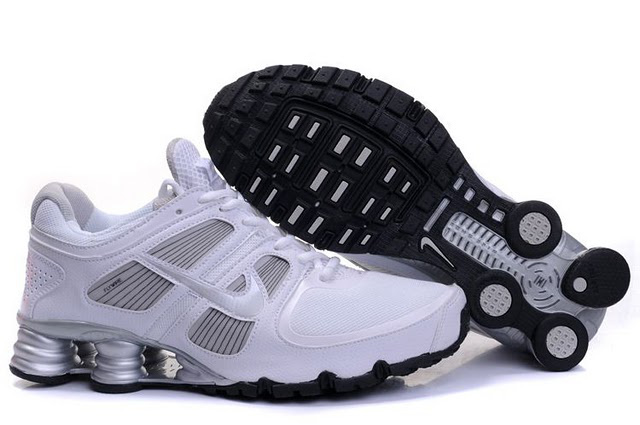 Nike Shox Turbo Chaussures 700RM85 2014 Homme Blanc Silver