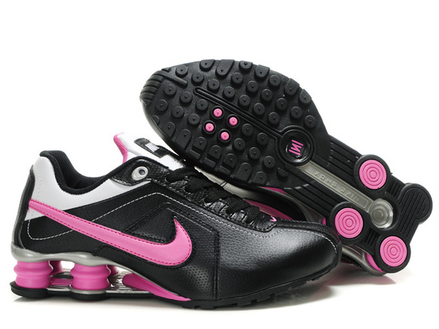 Noir Silvery Rose Femme 461TC42 2014 Nike Shox R4 Chaussures
