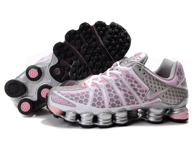 Silver Rose Nike Shox TL3 Chaussures Femme 268OS14 2014