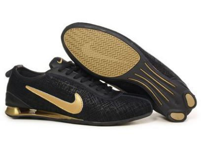 081EG21 2014 Noir/Or Nike Shox Rivalry Premium Homme
