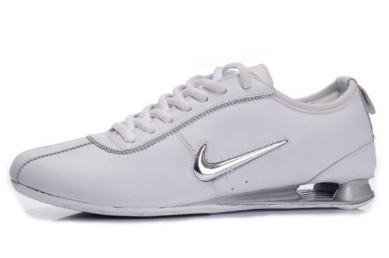 Electroplating Hook Blanc/Silver Homme Nike Shox Rivalry 736XY45 2014