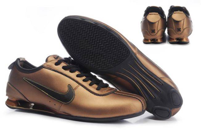 Homme 075UK64 2014 Bronze/Noir Nike Shox Rivalry Premium