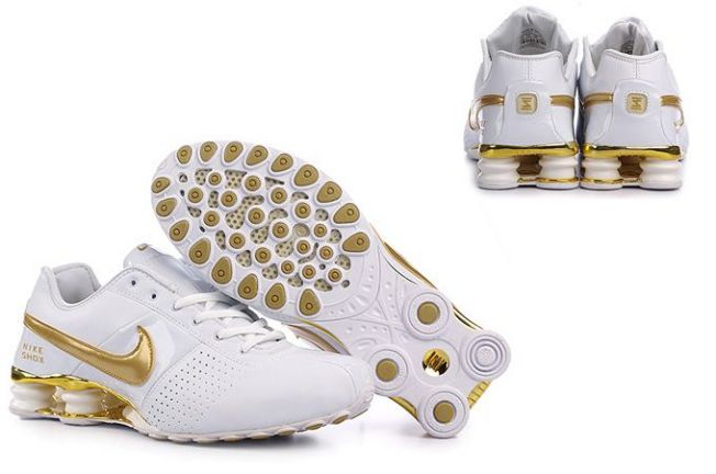 Nike Shox Deliver 339GP33 2014 Blanc Or Homme
