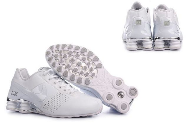 Nike Shox Deliver Blanc Light Rouge Homme 559YS95 2014