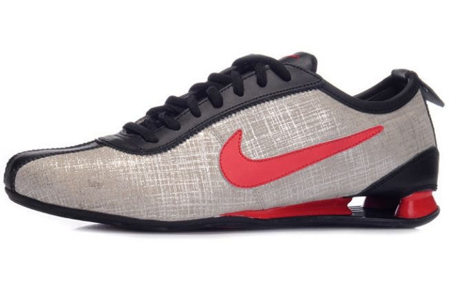 Nike Shox Rivalry Premium Noir/Silver-Rouge Homme 010HE84 2014